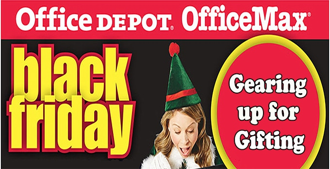 "Office Depot and OfficeMax ""Gear up for Gifting"""