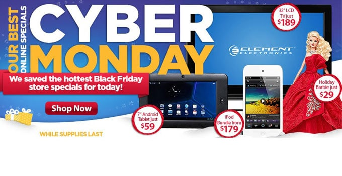Cyber Sunday? Walmart Pushes Cyber Monday Sales