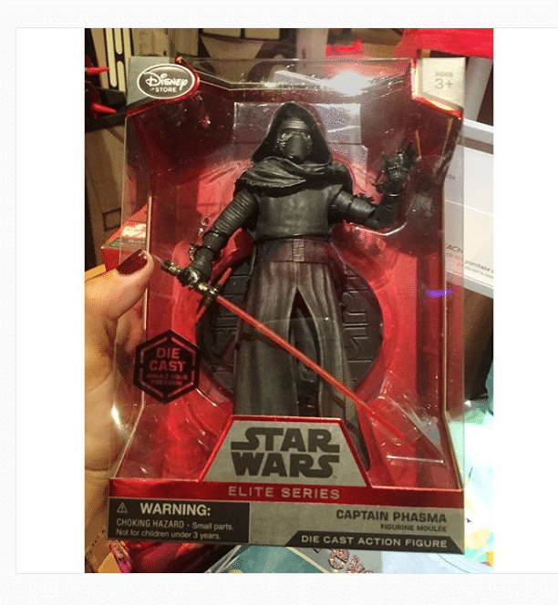 """""""Cool Captain Phasma cosplaying as Kylo Ren #Oops #YouHadOneJob #ForceFriday"""""""