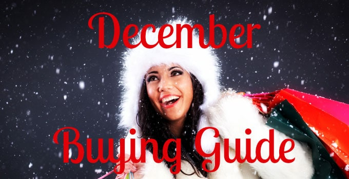 December Buying Guide – Holiday Gifts and More