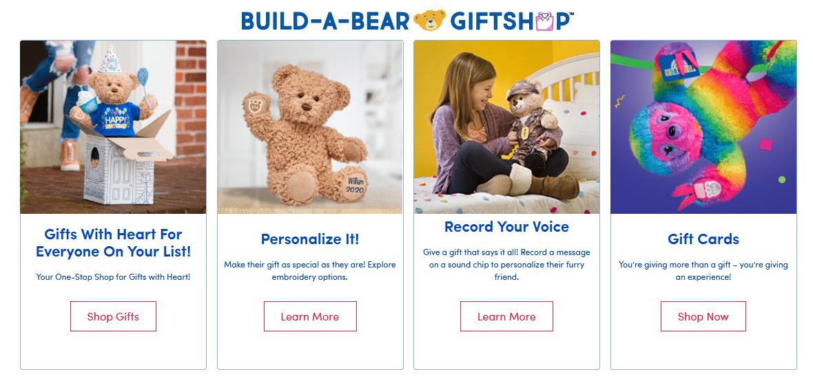 Build-A-Bear Events