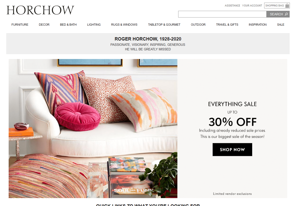 Home Horchow