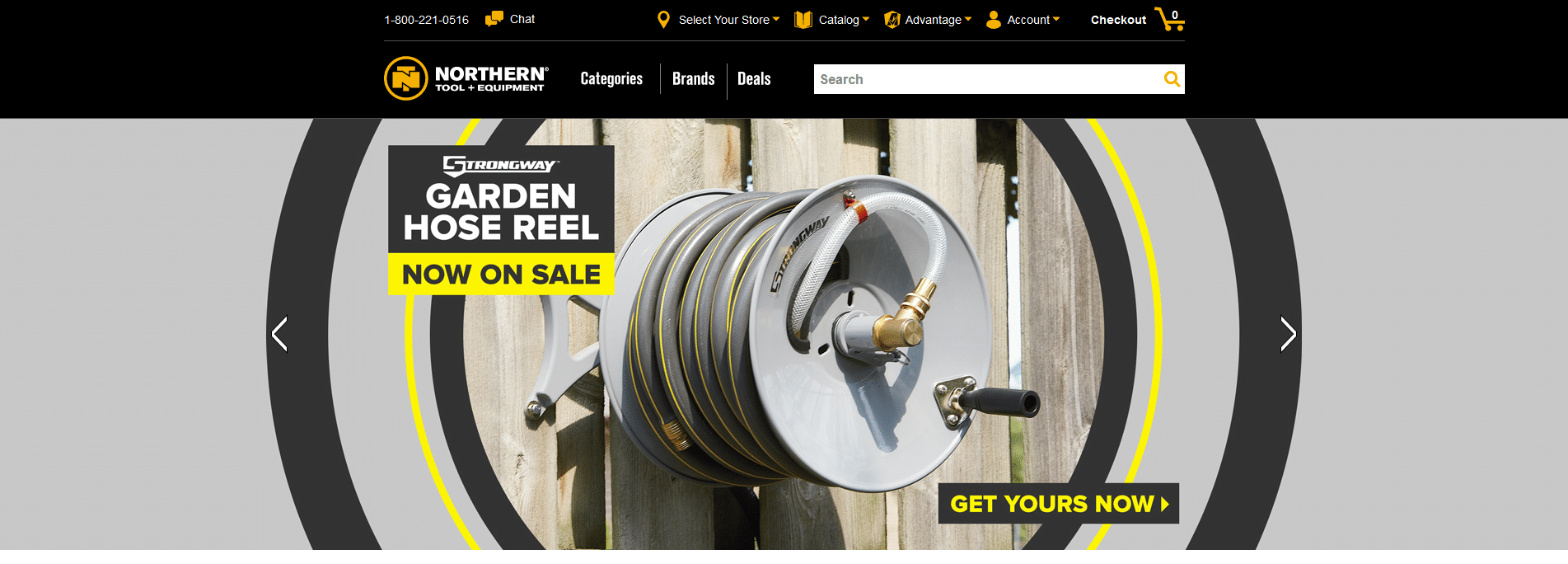 Northern Tool online