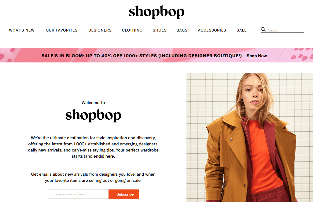 SHOPBOP Designer Fashion Brands