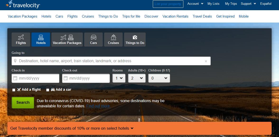 travelocity coupon car rental