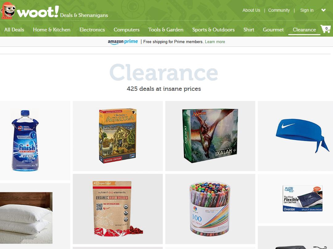 Woot Best deals