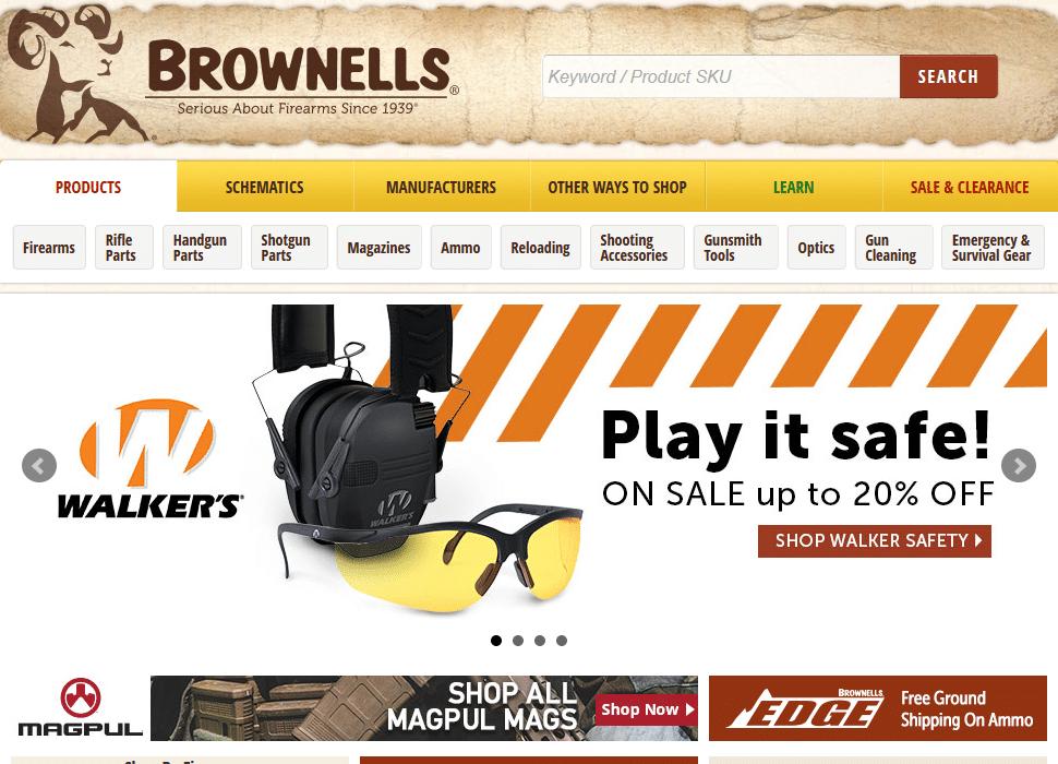 brownells online