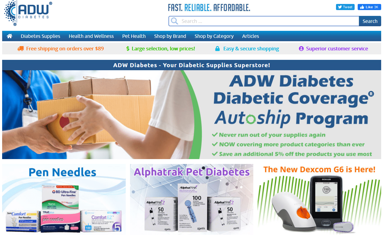 ADW Diabetes online