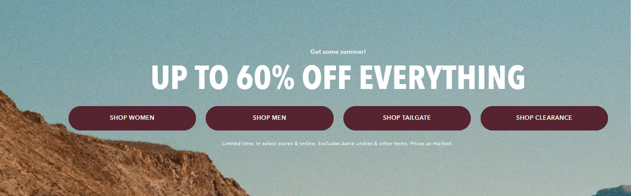 American Eagle Outfitters 60 off