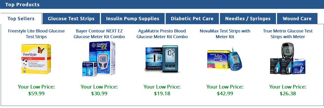 Diabetic Supplies Online ADW Diabetes