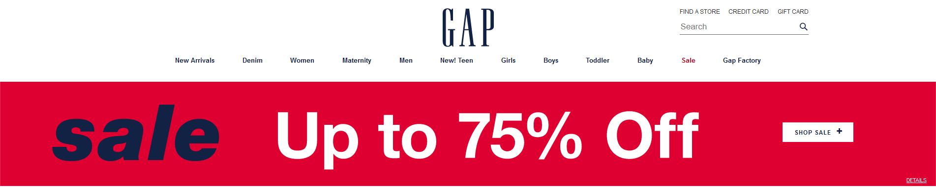 gap online