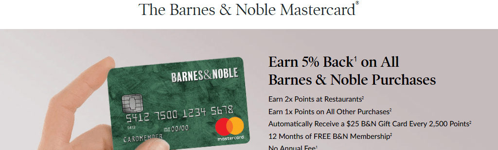 Barnes Noble Mastercard