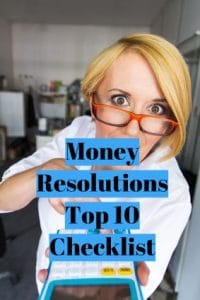 Money Resolutions Top 10 Checklist
