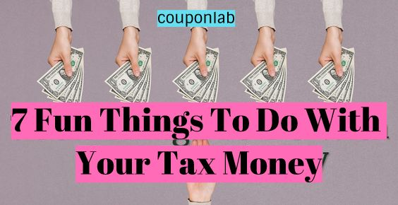 7 Fun Things To Do With Your Tax Money
