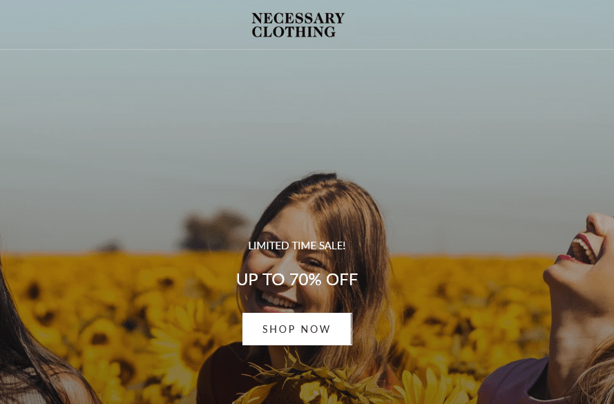 Necessary Clothing- Online