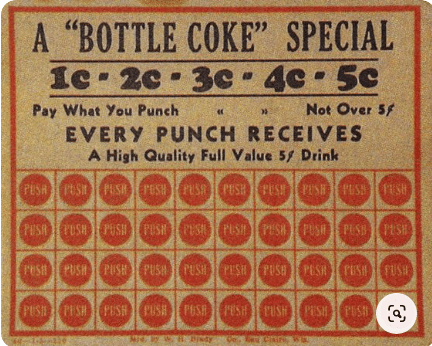 coca cola one cent coupon