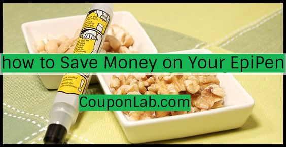 how to Save Money on Your EpiPen