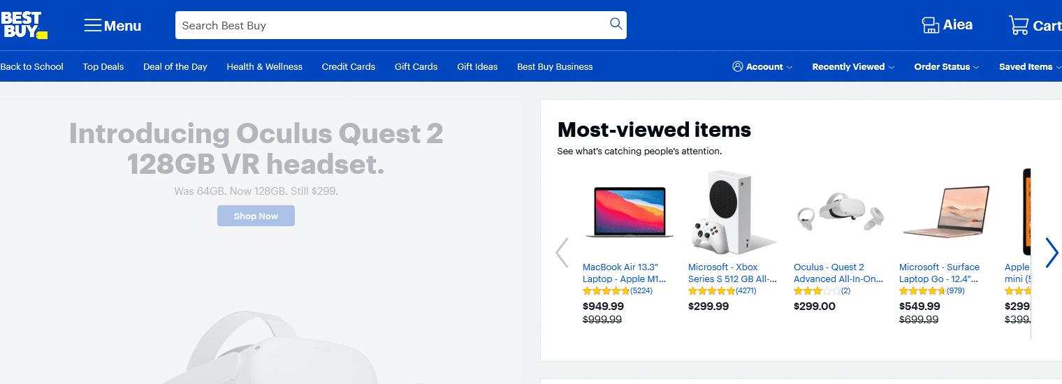 Best Buy Online Store