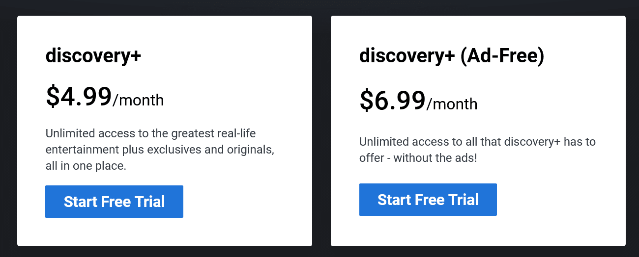Discovery Plus  save