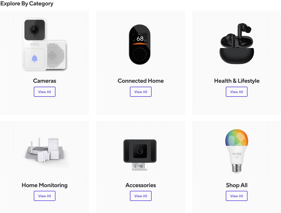 Wyze product Smart Home Devices