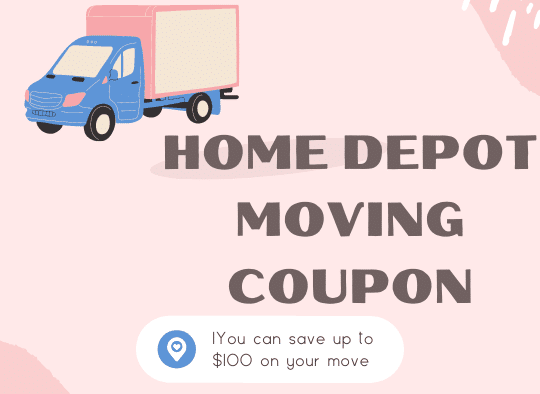 tips to get Home Depot Moving Coupon