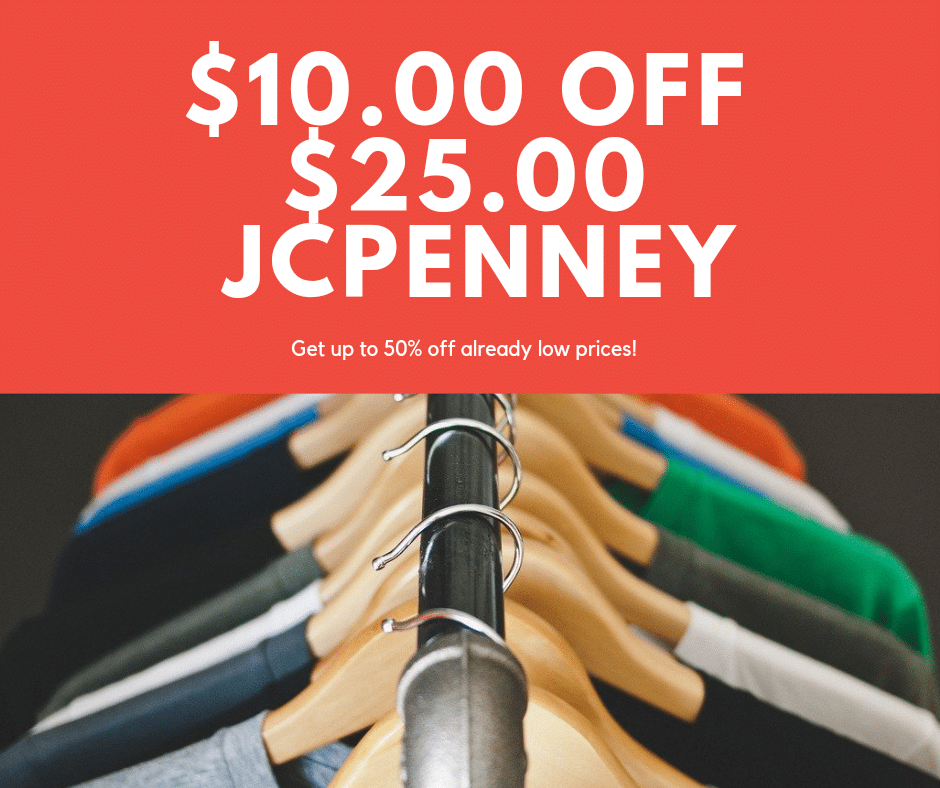 $25 JCPenney sale
