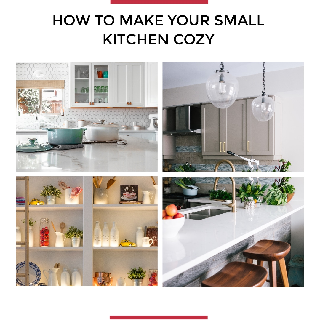How to Make Your Small Kitchen Cozy